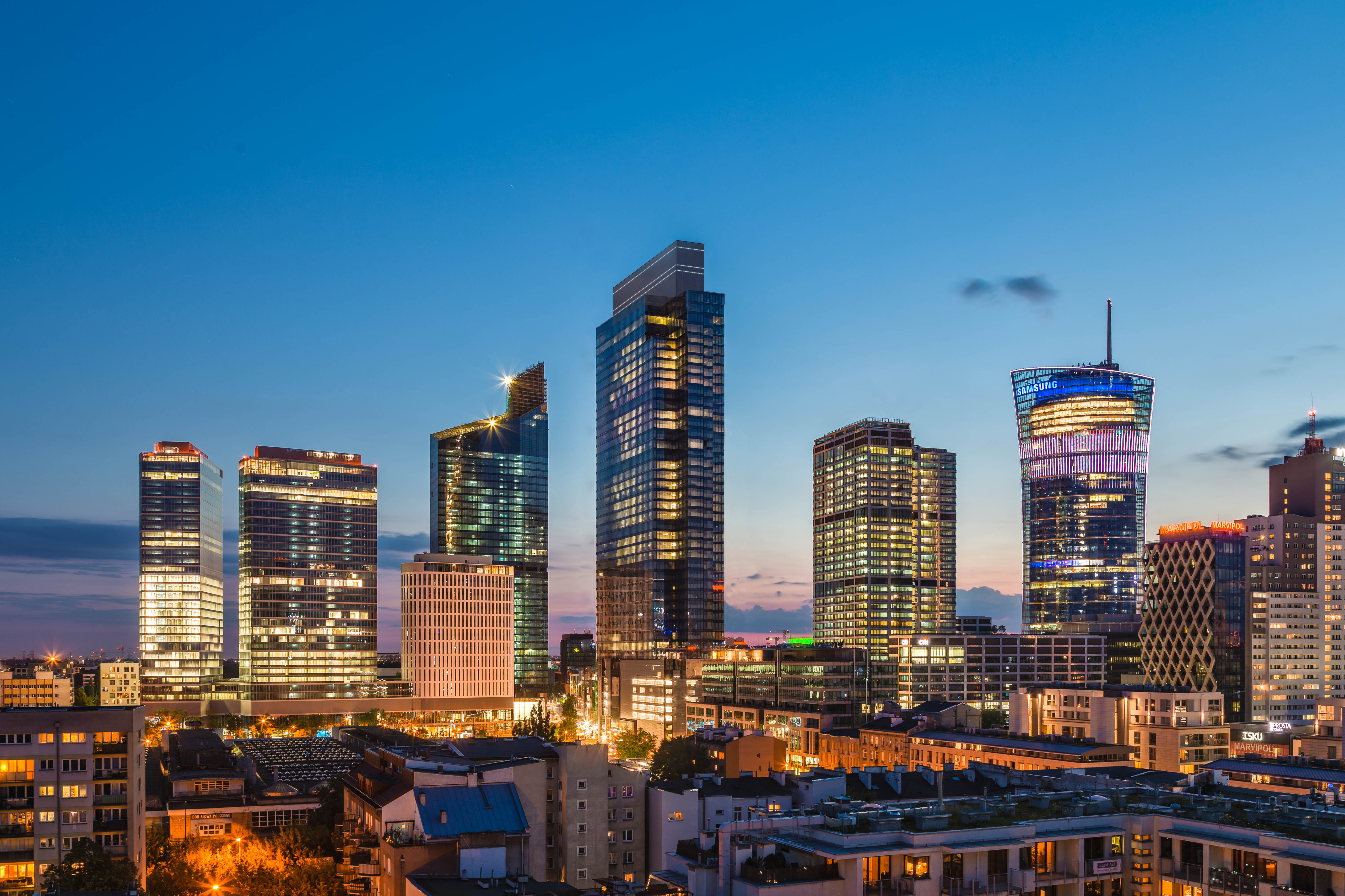 Budowa Warsaw UNIT ukończona